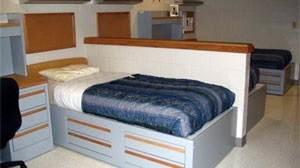 Dormitory at New Job Corps Training Center