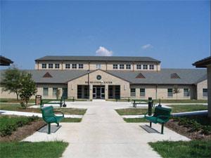 Recreation Building at Job Corp Training Center
